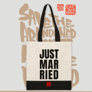 Just married Canvasbag