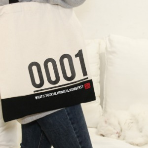 Meaningful numbers Canvasbag